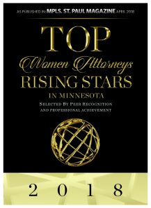 Top Women Attorneys 2018 Award